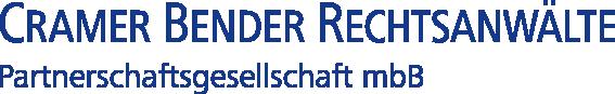 Logo Cramer Bender Rechtsanwälte