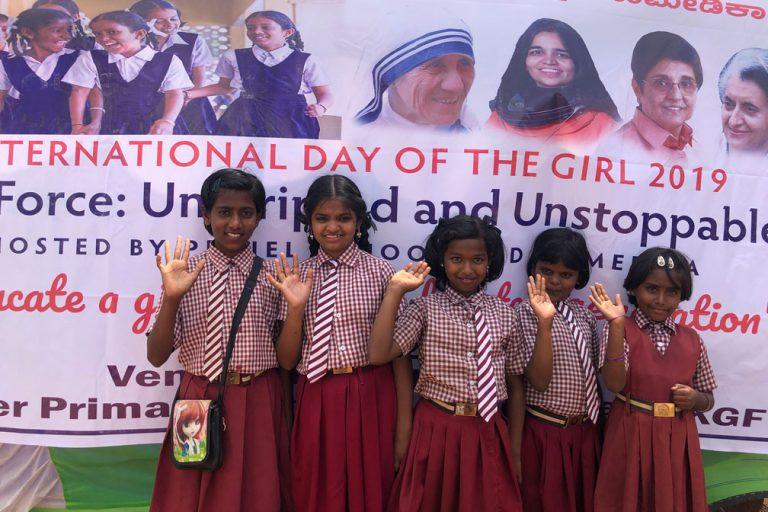 Bildungshilfe Humedica in Indien