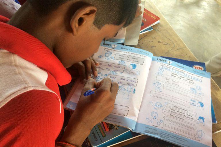 Bildungshilfe Humedica in Sri Lanka